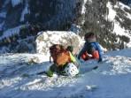 Gipfelanstieg Schwarzenstein