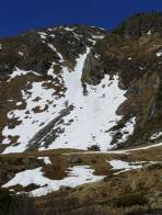 Perfekte Bedingungen in der Rinne zwischen Oberen und Unteren Kaltenbachsee