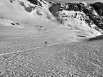 ...am Edelgriesgletscher liegt ausreichend Schnee