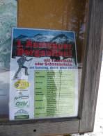 """""""Leider"""" versäumt. Was gab es beim Bergauflauf an den Labestationen? - Vermutlich Bergauflauf!"""