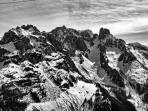Schneeverhältnisse am Gosaukamm (Samstag-Flugbild)