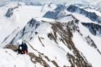 Aufstieg Schalfkogel mit Ski zwecks Überschreitung