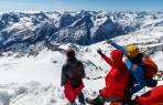 Panorama von der Wildspitze - man sieht die ganze Runde