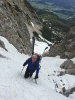 Aufstieg ohne Steigeisen