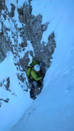 kurze Steilpassage
