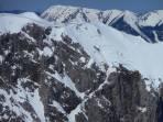 Da gibt es noch Schnee für die Lang Eibl Schlucht
