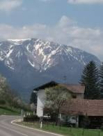 Schneeberg ke konci dubna