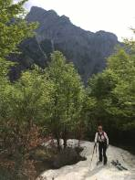 Blick zum Ostrawitz angeblich der Berg der Jäger