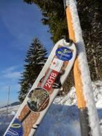 Meine Ski freuen sich mit mir über den guten Saisonstart