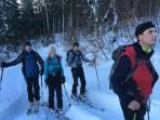 Anstieg im Waldbereich ca. 1300Hm