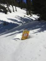 Lange schon nicht mehr so viel Schnee gesehen in der Ingering