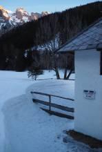 Schneehöhe beim Bodenbauer