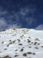 Strahlend am Gipfel