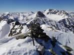Gipfel Hirschgkarlgrat