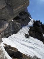 durchgehende Abfahrt bis unter die Steilstufe möglich (Ortskenntnisse)