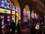 Nasir al Molk Moschee (Pinke Moschee) in Shiraz