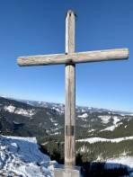 Gipfelkreuz auf dem Kleinen Königskogel