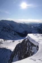 Teifblick vom Gipfel Richtung Süden