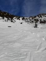 Gipfelhang, ohne Probleme durch die Latschen