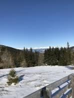 Schöne Aussichten in die tief verschneite Oberstmk.