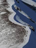Der Grat zwischen Giesmoarkogel und Himmeleck - nicht zum skifahren geeignet