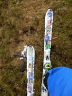 Ski mit Rollen sind der Verkaufshit im Almenland.