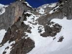 Steilstufe mit direkter Abfahrtsvariante
