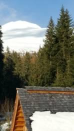 Ab Waldgrenze viel Schnee