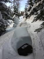 Tolle Schneeverhältnisse im gesamten Tourenverlauf