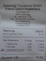 5 Euro, die ich gerne bezahlt habe.