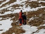 """Teilweise Schneemangel - nur die wahren """"Bergfreunde"""" gehen weiter"""