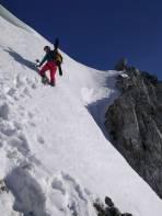 Gipfelanstieg