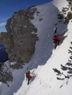 Im Gipfelaufbau