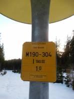 Beim Rückweg darf nicht die Trasse der Gasleitung übersehen werden, denn sonnst muss man einen mehr als 4 km längeren Rückweg in Kauf nehmen.