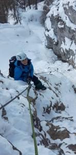 Teamnachwuchs im Klettersteig