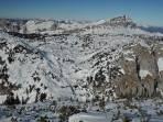 Überblick über den Tourenverlauf vom Bärenlochsattel bis zum Brandstein