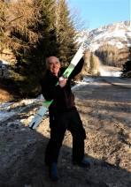 Große Freude, dass ich den am Stuhleck am 25. Februar 2021 verlorenen Ski von Friedrich Grabner wieder überreicht bekam.