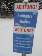 Man fühlt sich als Skitourengeher nicht abgelehnt.