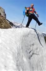 Alpinisten wissen, ein Fehltritt kann fatale Folgen haben.